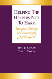 Helping the Helpers Not to Harm - 1st Edition book cover