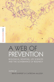 A Web of Prevention - 1st Edition book cover