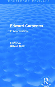 Edward Carpenter (Routledge Revivals) - 1st Edition book cover