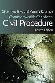 Commonwealth Caribbean Civil Procedure - 4th Edition book cover