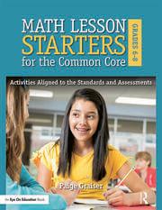 Math Lesson Starters for the Common Core, Grades 6-8 - 1st Edition book cover