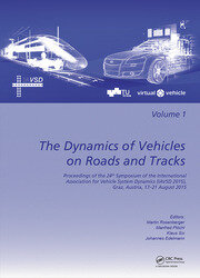 The Dynamics of Vehicles on Roads and Tracks: Proceedings of the 24th Symposium of the International Association for Vehicle System Dynamics (IAVSD 2015), Graz, Austria, 17-21 August 2015