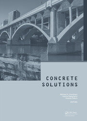 Concrete Solutions: Proceedings of Concrete Solutions, 6th International Conference on Concrete Repair, Thessaloniki, Greece, 20-23 June 2016
