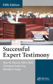 Successful Expert Testimony -  5th Edition book cover