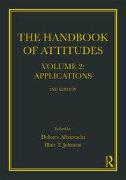 Handbook of Attitudes, Volume 2: Applications - 1st Edition book cover