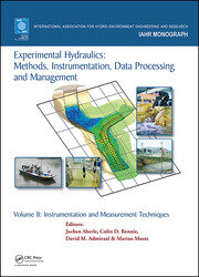 Experimental Hydraulics: Methods, Instrumentation, Data Processing and Management - 1st Edition book cover
