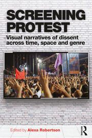 Screening Protest - 1st Edition book cover