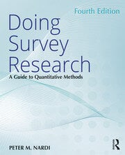 Doing Survey Research : A Guide to Quantitative Methods - 4th Edition book cover