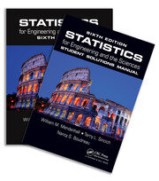 Statistics for Engineering and the Sciences, Sixth Edition, Textbook and Student Solutions Manual - 1st Edition book cover