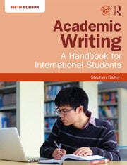 Academic Writing : A Handbook for International Students - 5th Edition book cover