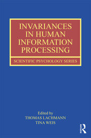 Invariances in Human Information Processing - 1st Edition book cover