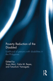 Poverty Reduction of the Disabled - 1st Edition book cover
