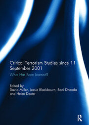 Critical Terrorism Studies since 11 September 2001 - 1st Edition book cover