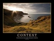 Context Poster - 1st Edition book cover