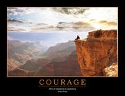 Courage Poster - 1st Edition book cover