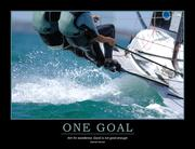 One Goal Poster - 1st Edition book cover