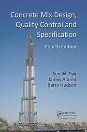 Concrete Mix Design, Quality Control and Specification - 4th Edition book cover