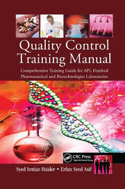 Quality Control Training Manual - 1st Edition book cover