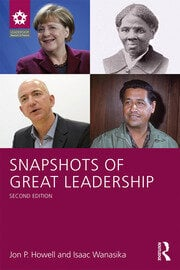 Snapshots of Great Leadership - 2nd Edition book cover