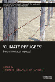 Climate Refugees - 1st Edition book cover