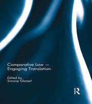Comparative Law - Engaging Translation - 1st Edition book cover