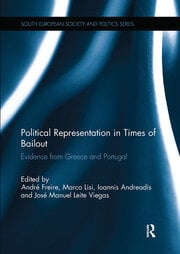Political Representation in Times of Bailout - 1st Edition book cover