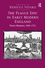 The Plague Epic in Early Modern England - 1st Edition book cover