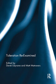 Toleration Re-Examined - 1st Edition book cover