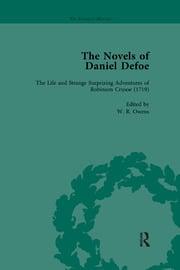 The Novels of Daniel Defoe, Part I Vol 1 - 1st Edition book cover