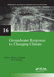 Groundwater Response to Changing Climate - 1st Edition book cover