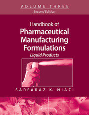 Handbook of Pharmaceutical Manufacturing Formulations - 2nd Edition book cover