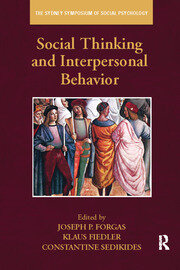 Social Thinking and Interpersonal Behavior