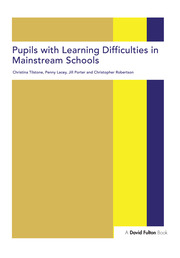 Pupils with Learning Difficulties in Mainstream Schools - 1st Edition book cover