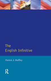English Infinitive, The - 1st Edition book cover