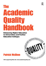 The Academic Quality Handbook - 1st Edition book cover