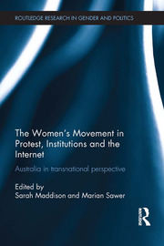 The Women's Movement in Protest, Institutions and the Internet - 1st Edition book cover