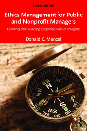 Ethics Management for Public and Nonprofit Managers - 3rd Edition book cover