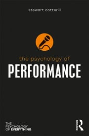 The Psychology of Performance - 1st Edition book cover