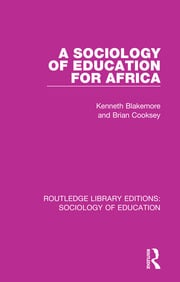A Sociology of Education for Africa