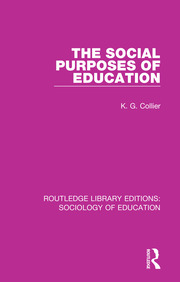 The Social Purposes of Education