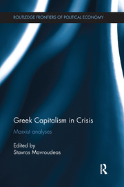 Greek Capitalism in Crisis - 1st Edition book cover