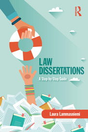 Law Dissertations : A Step-by-Step Guide - 1st Edition book cover