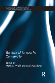 The Role of Science for Conservation - 1st Edition book cover