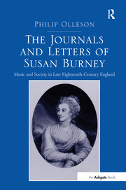 The Journals and Letters of Susan Burney - 1st Edition book cover