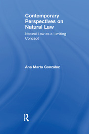 Contemporary Perspectives on Natural Law - 1st Edition book cover