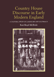 Country House Discourse in Early Modern England - 1st Edition book cover