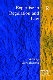 Expertise in Regulation and Law - 1st Edition book cover
