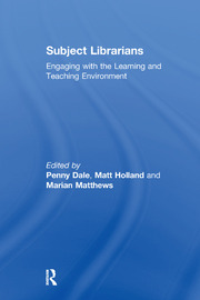 Subject Librarians - 1st Edition book cover