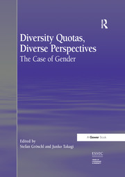 Diversity Quotas, Diverse Perspectives - 1st Edition book cover