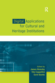 Digital Applications for Cultural and Heritage Institutions - 1st Edition book cover